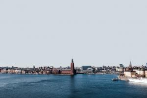 Flot by ved vandet - Sverige