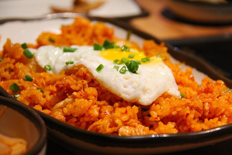 Kimchi ris