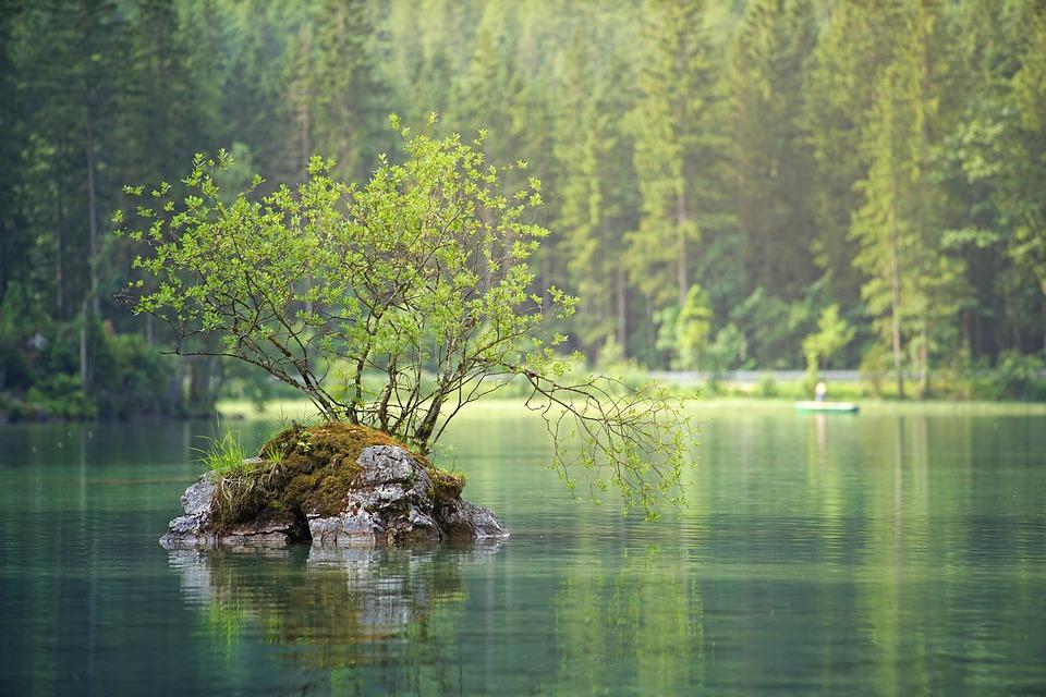 lille ø i sø