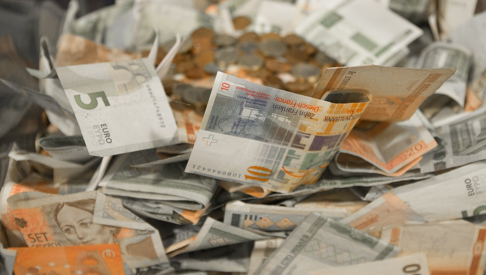Penge kontantmønter euro valuta